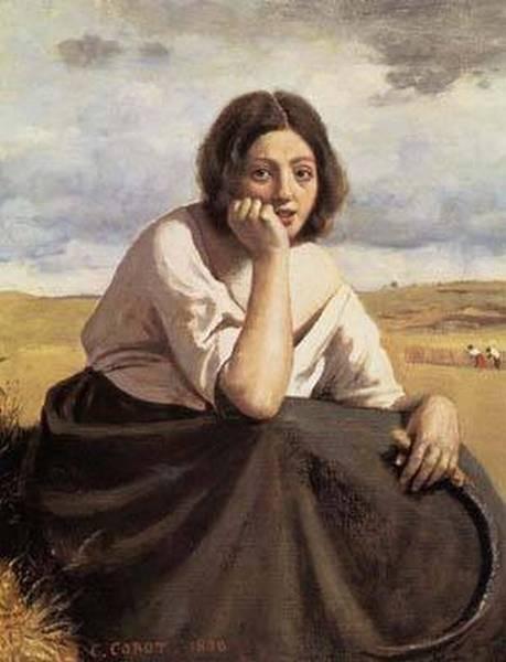 Harvester Holding Her Sickle 1838